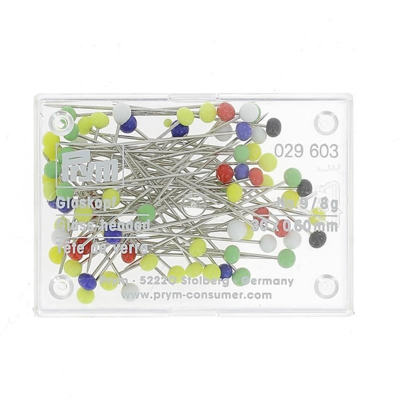 Spilli Testa Colorata Prym Testa Vetro 0/1 029603