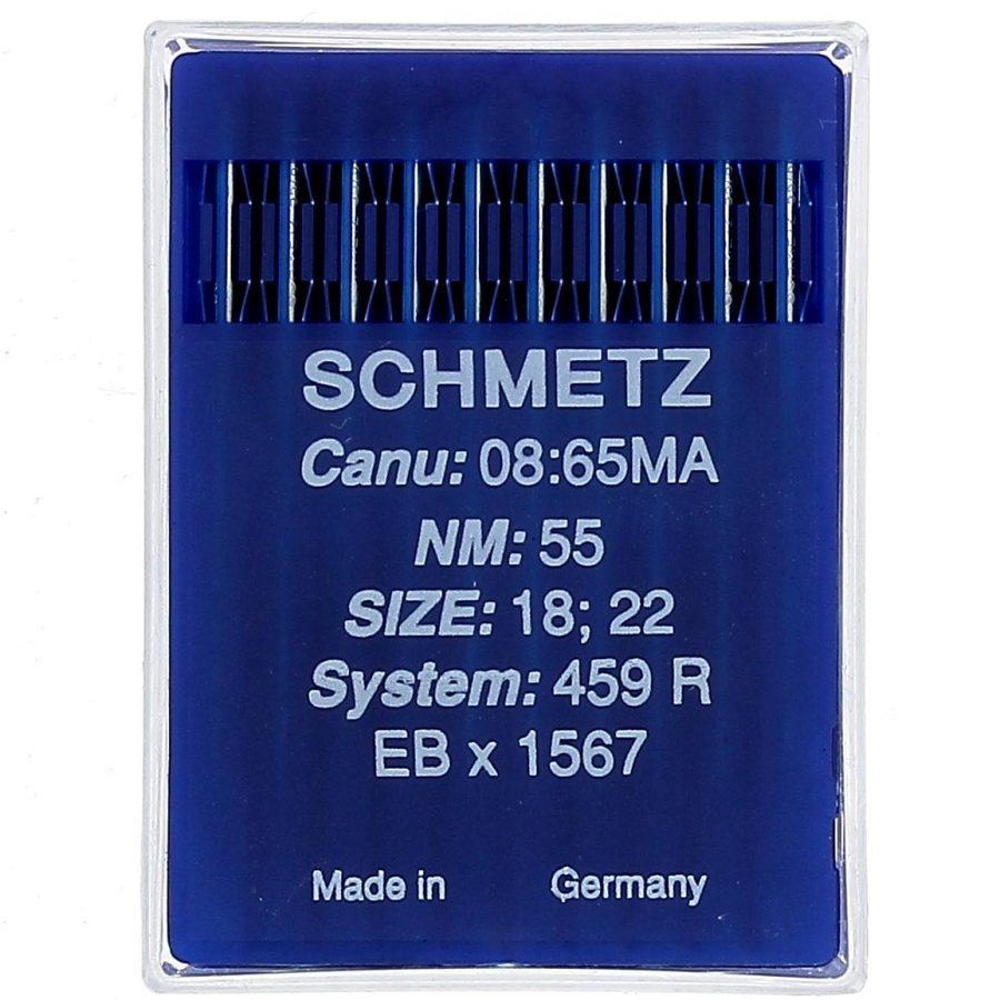 C.Art.0113 Aghi da macchina pellicceria Schmetz Sis.459 R n.19-50