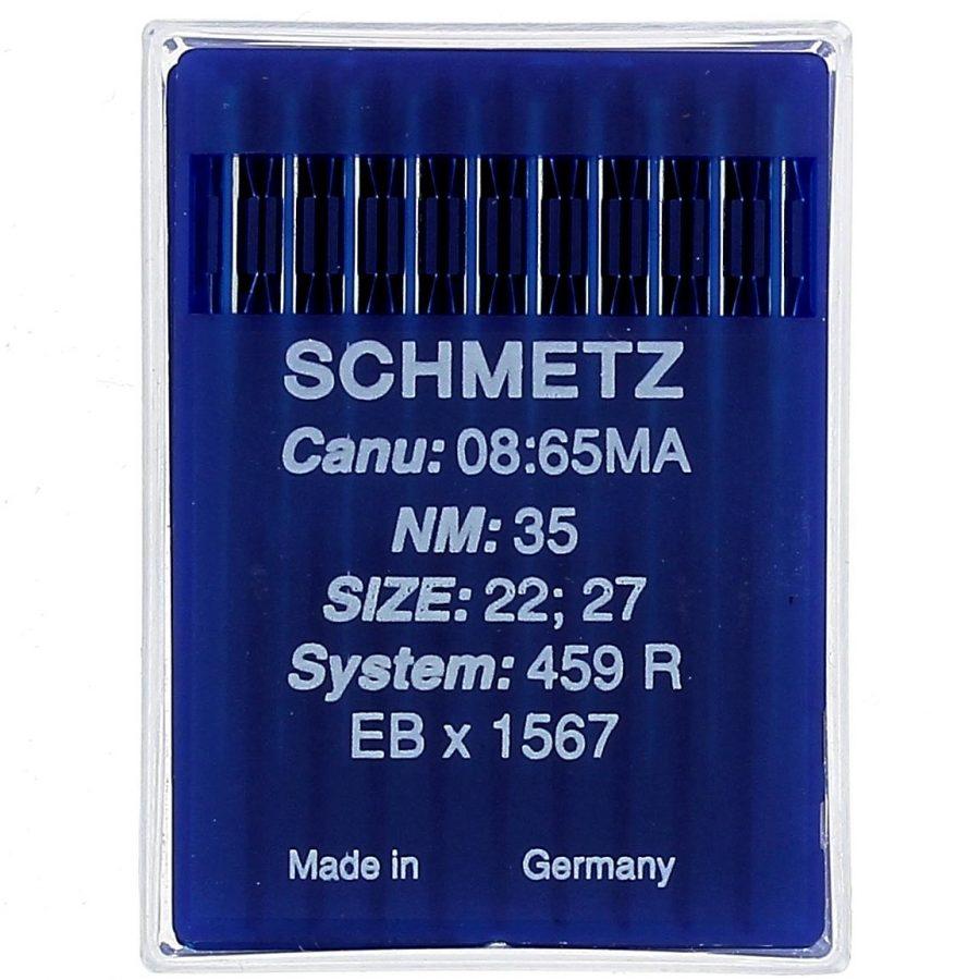 Aghi da macchina pellicceria Schmetz Sis.459 R Misure 21-22-23-24