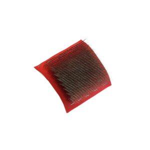 Cardina acciaio ricambio per sgarzino c.art.0502