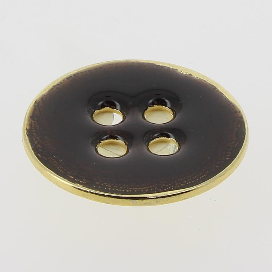 Bottone metallo smaltato mod.10895 Lin.60