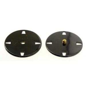 Bottoni automatici in metallo Mod.21443 Canna Fucile lin.40 e 50