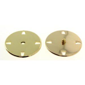 Bottoni automatici in metallo Mod.21443 Oro Eco Free lin.40 e 50