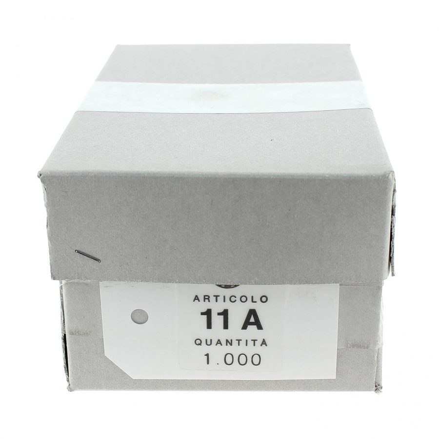Cartellini bianchi 11A cm. 4,1x 6,4