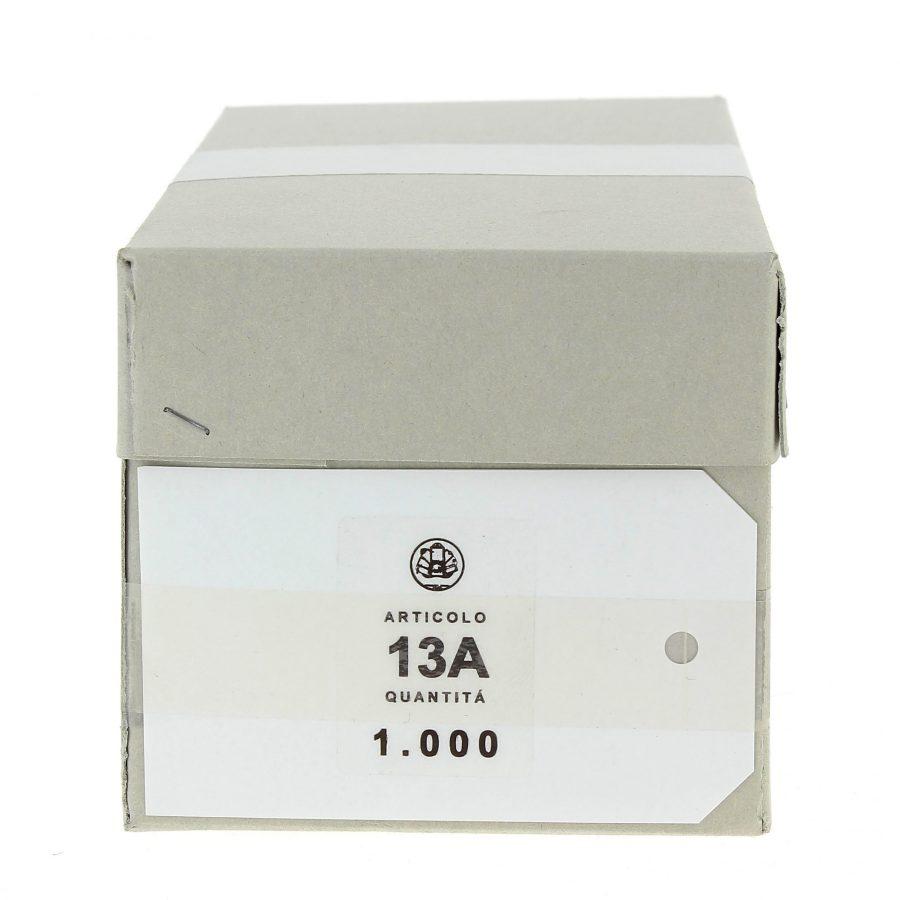 Cartellini bianchi 13A cm. 5,2 x 8,8