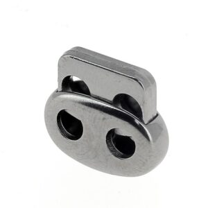 Fermacoulisse Metallo 2 fori Mod. F139M C.F.