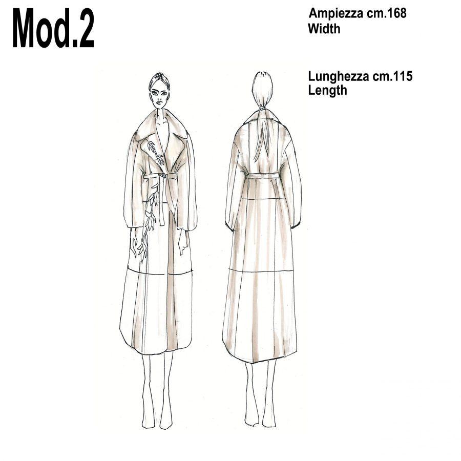 Cartamodello per pellicce mod.2