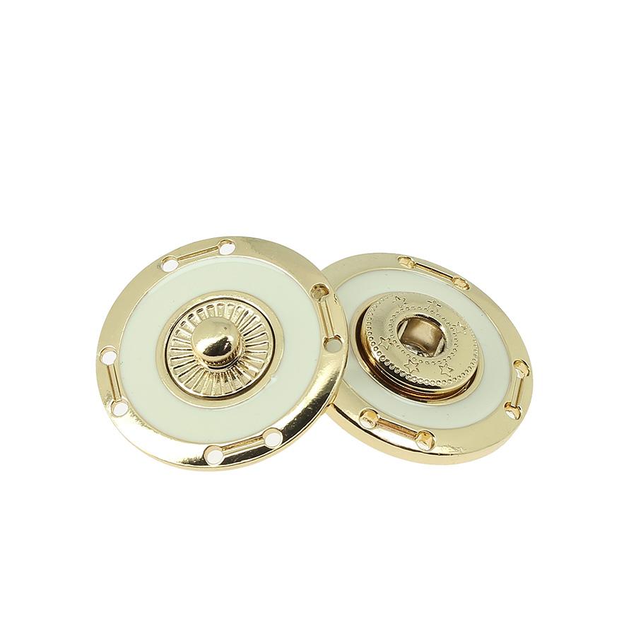 Bottone a pressione smaltato mod.4802X lin.40 - 50 Col.374