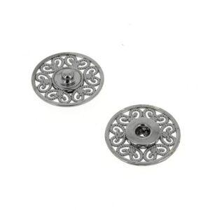 Bottoni Automatici in metallo Mod.53823 Canna Fucile lin.36 e 44