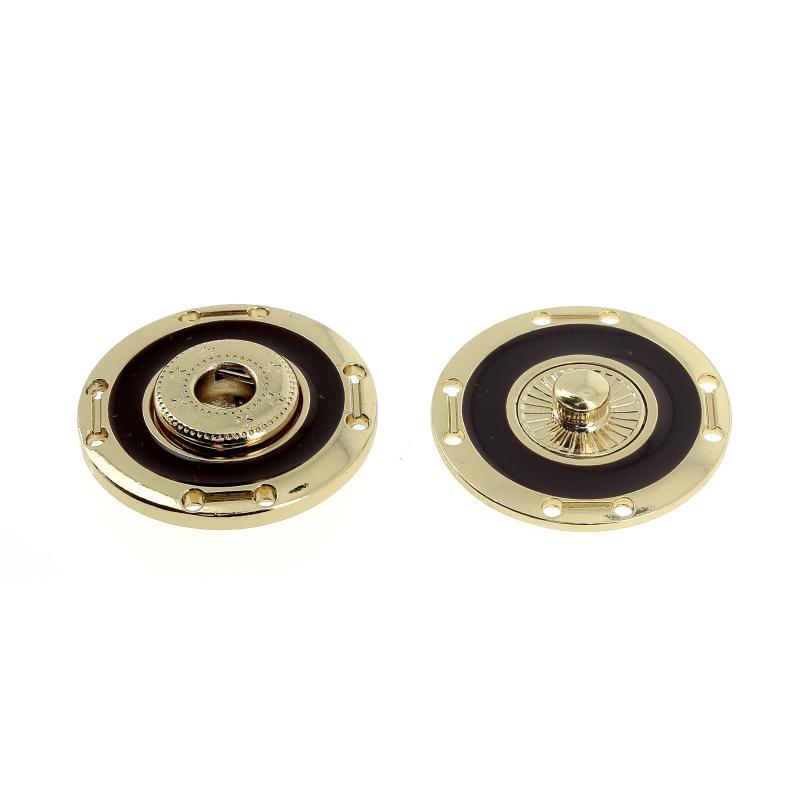 Bottone a pressione smaltato mod.4802X lin.40 - 50 Col.378