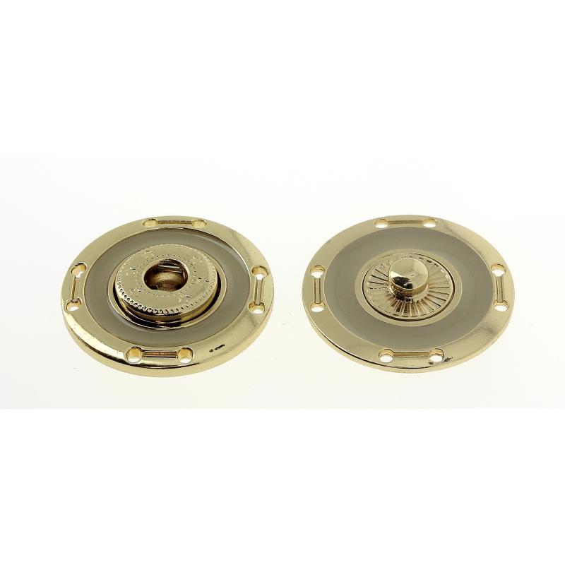 Bottone a pressione smaltato mod.4802X lin.40 - 50 Col.619