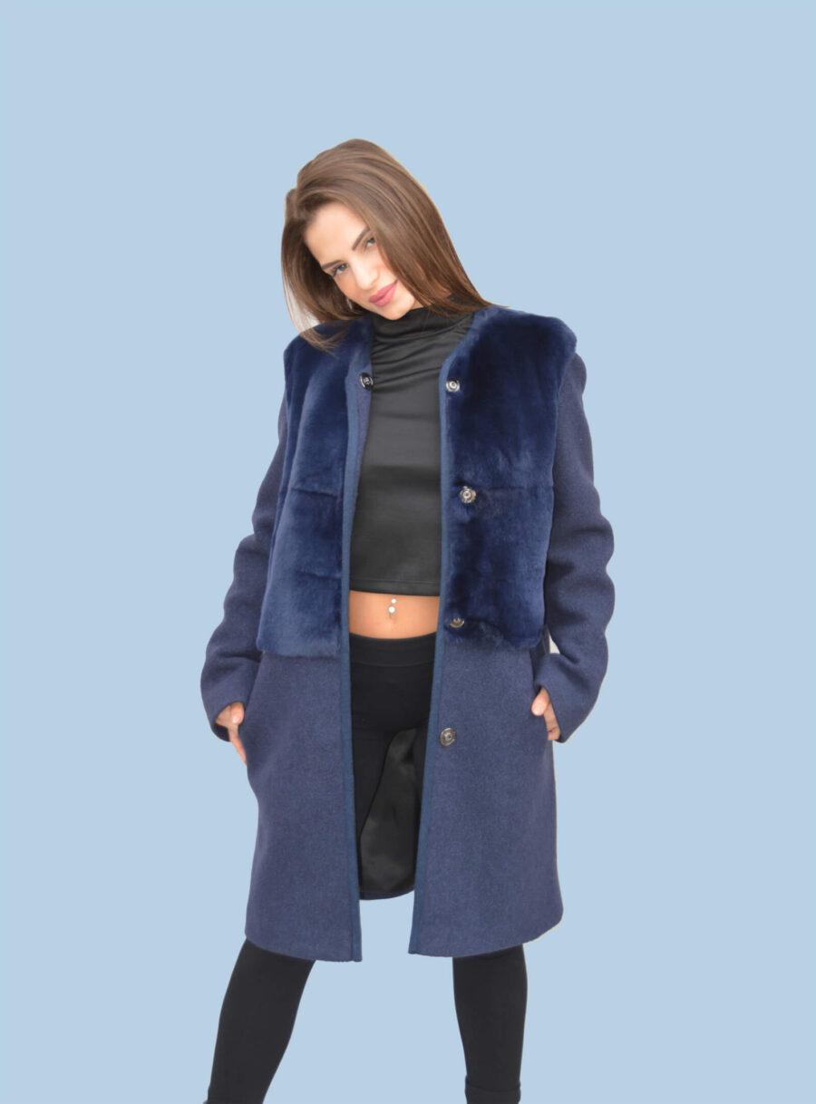 Cappotto in lana Mod.L02