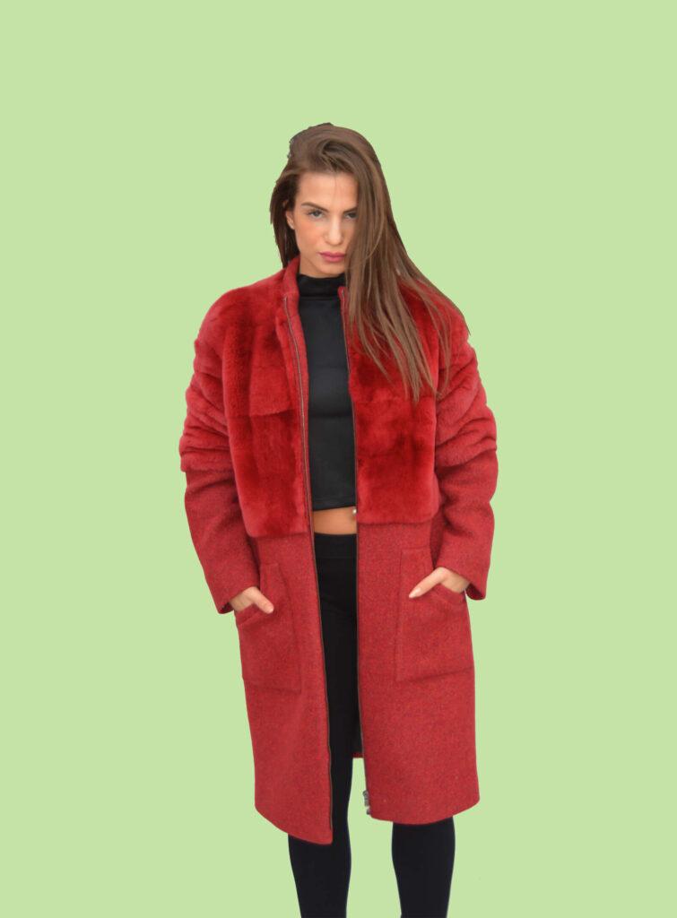 Cappotto lana Mod.L03
